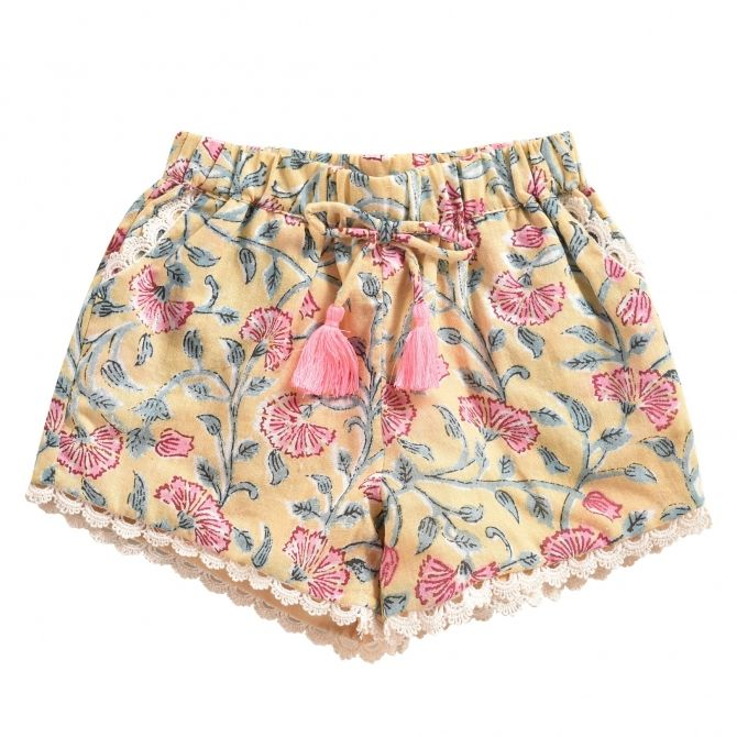 Shorts Vallaloid Lemon...