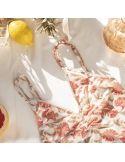 Bodysuit Ditya Bohemian Flowers White