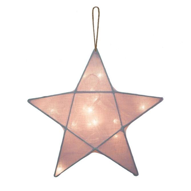 Lampa Gwiazda zgaszony róż - Numero 74