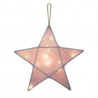 Lantern Star dusty pink