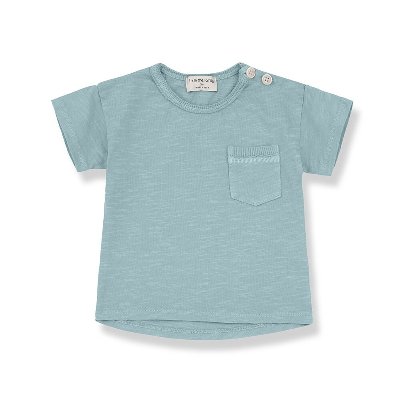 1 + in the family - Vicco T-shirt Green - 1