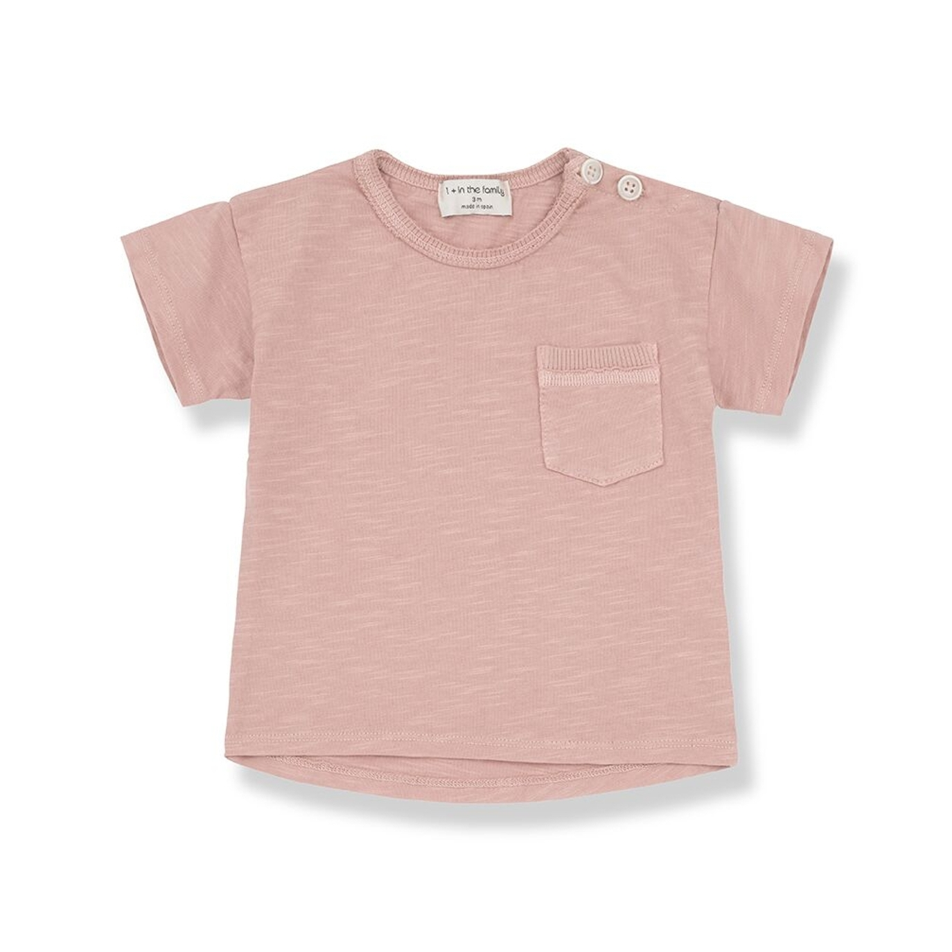 1 + in the family - Vicco T-shirt Pink - 1