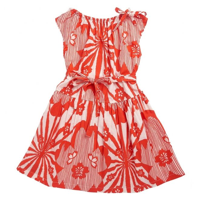 Caramel Baby & Child - Sukienka Notting Hill czerwona - 5
