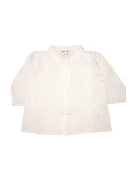 Caramel Baby & Child Westminister Baby Shirt White