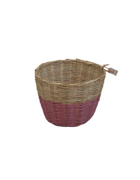Koszyk Basket rattan rattanowy rose różowy - Numero 74