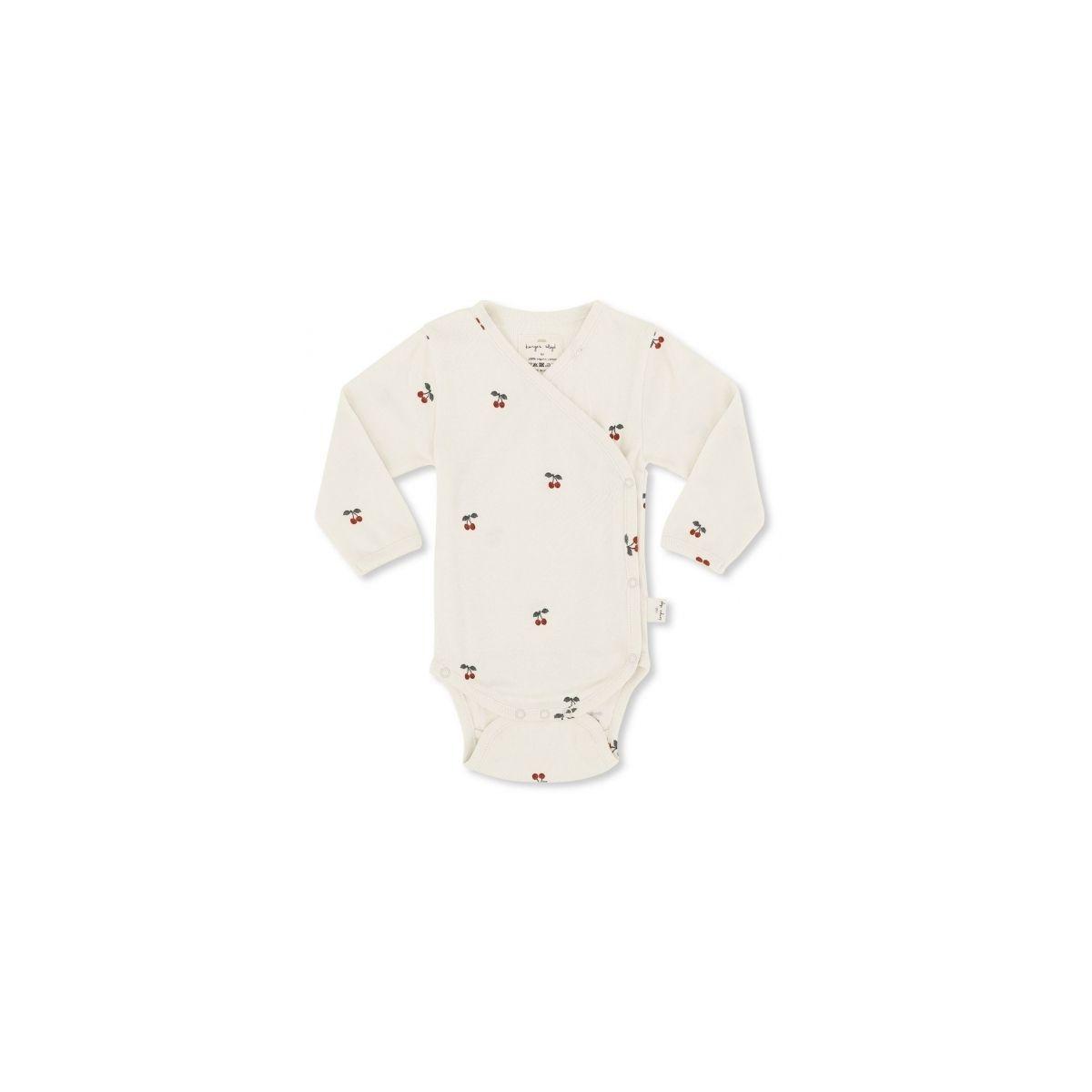 Konges Slojd Newborn body white