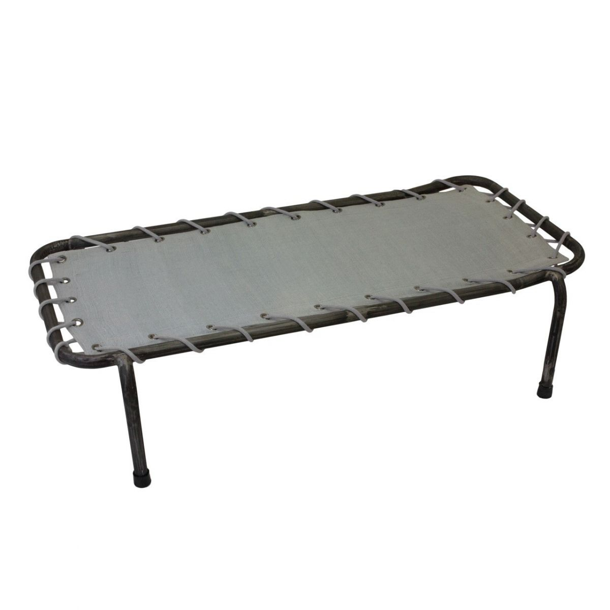 Numero 74 School Metal Bed silver grey