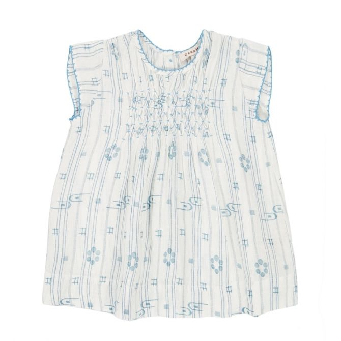 Caramel Baby & Child Sukienka Clapham Baby niebieska