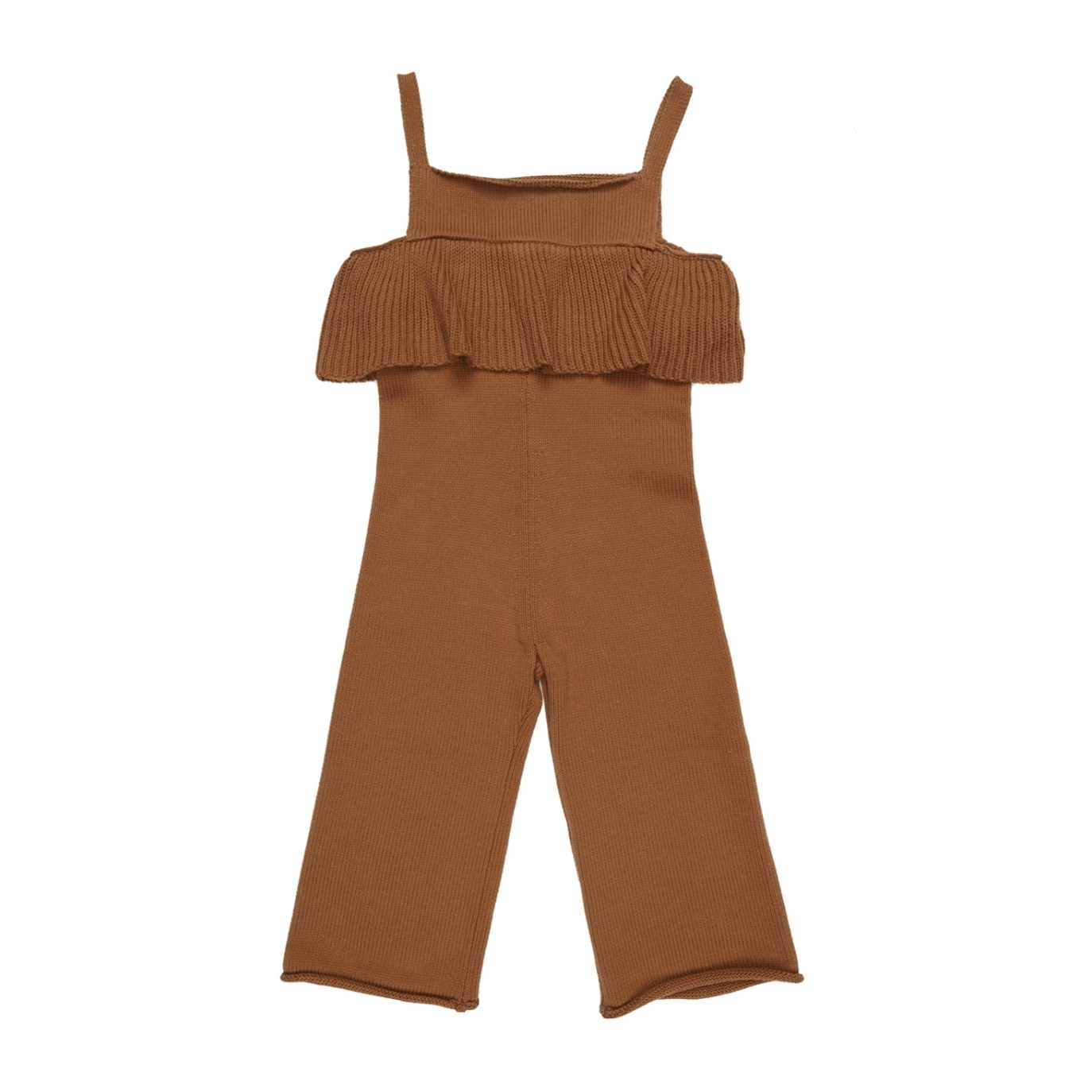 Maed for mini Knit Jumpsuit Busy Bear Brown