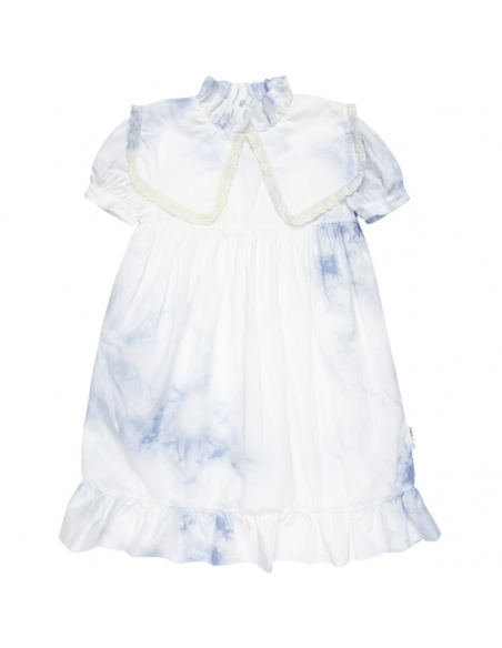 Maed for mini Dress Cloudy Cockatoo White