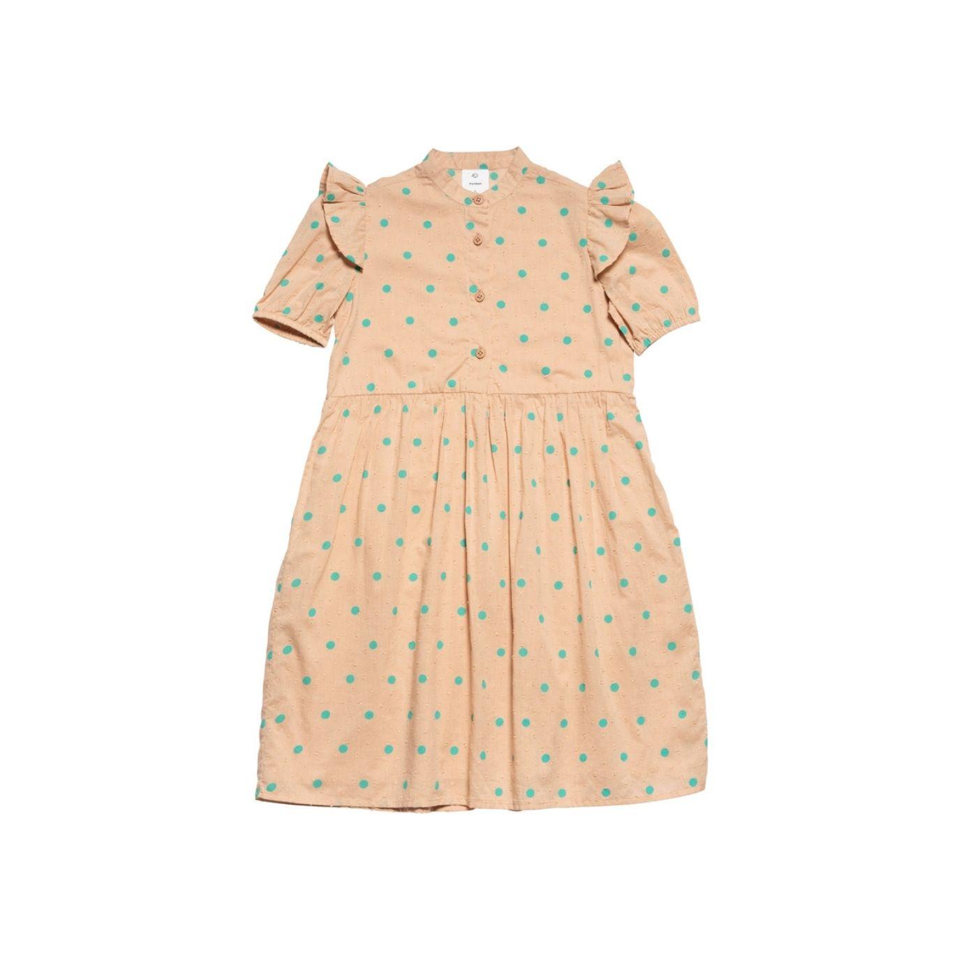 Wynken - Sukienka Puff Sleeve różowa - 1