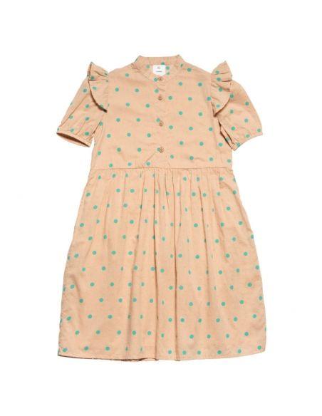 Wynken - Puff Sleeve Dress pink - 1