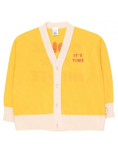 Tiny Cottons It's Time Cardigan Yellow