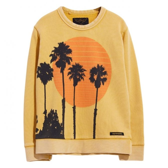 Finger in the nose Sweatshirt Brian Yellow
