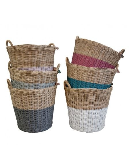 Basket rattan rose - Numero 74