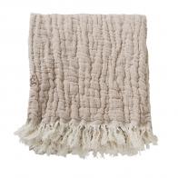 Mellow Tawny Blanket/ Throw M