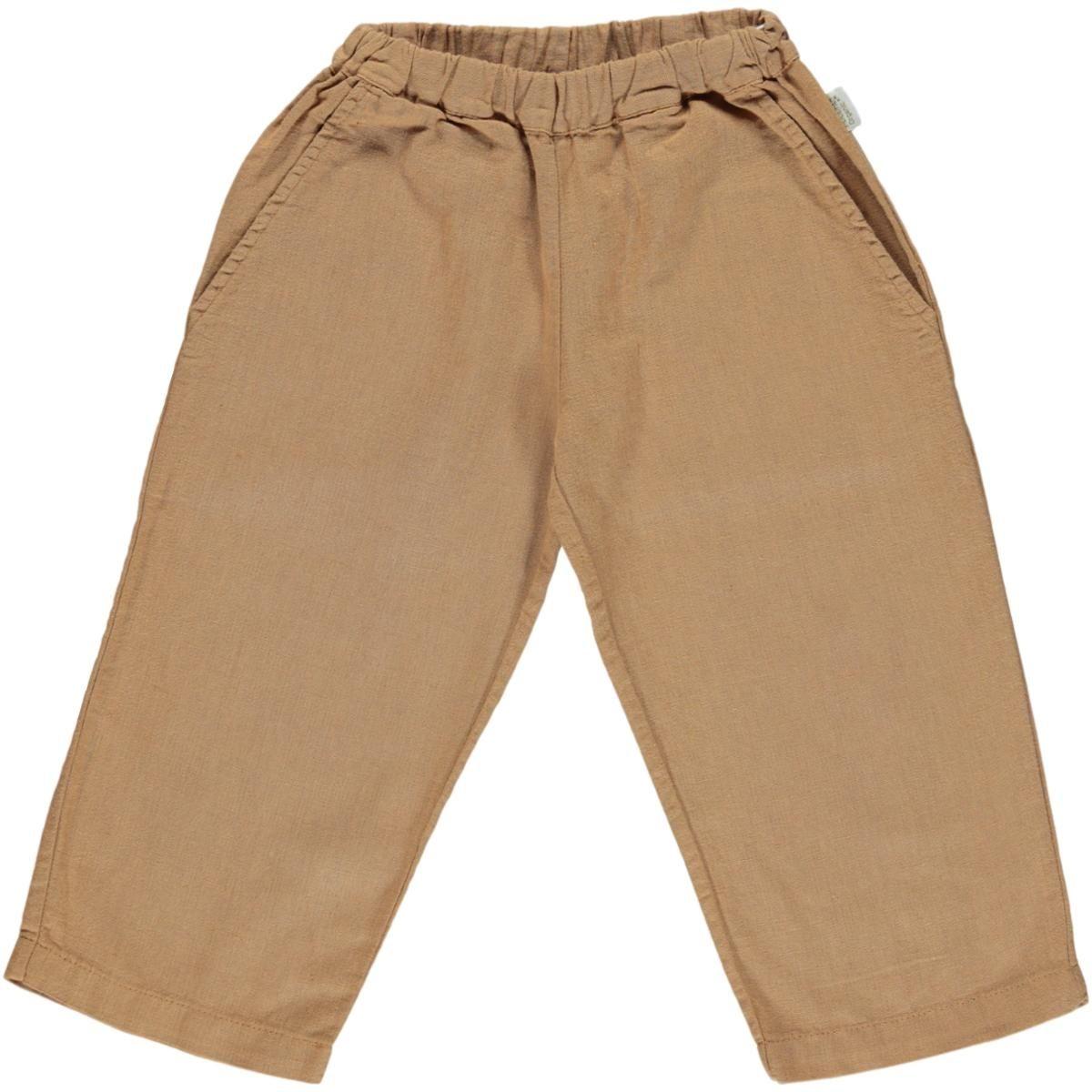 Poudre Organic Spodnie Pomelos brown sugar brązowe