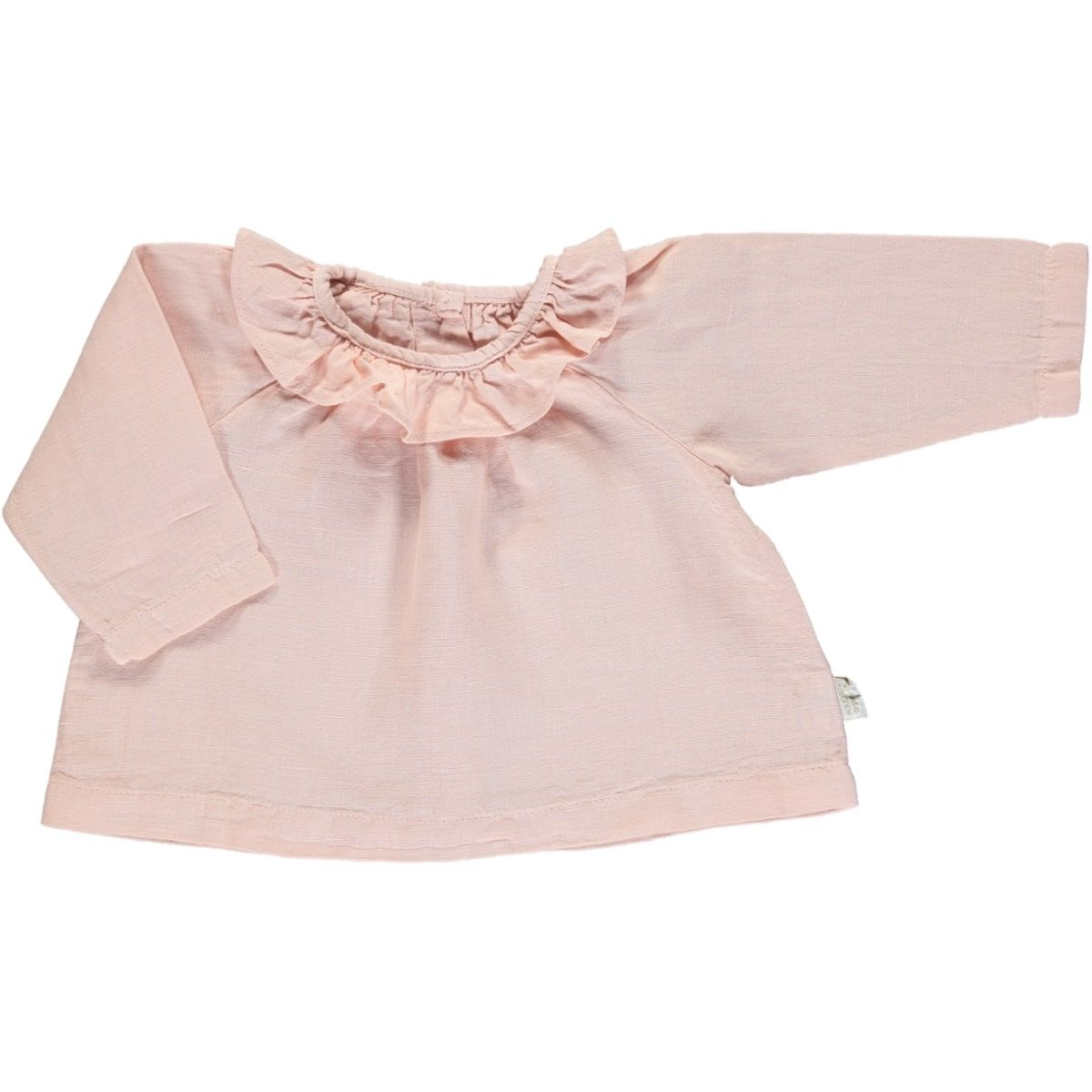 Poudre Organic Blouse Charme Lin Evening Sand Pink