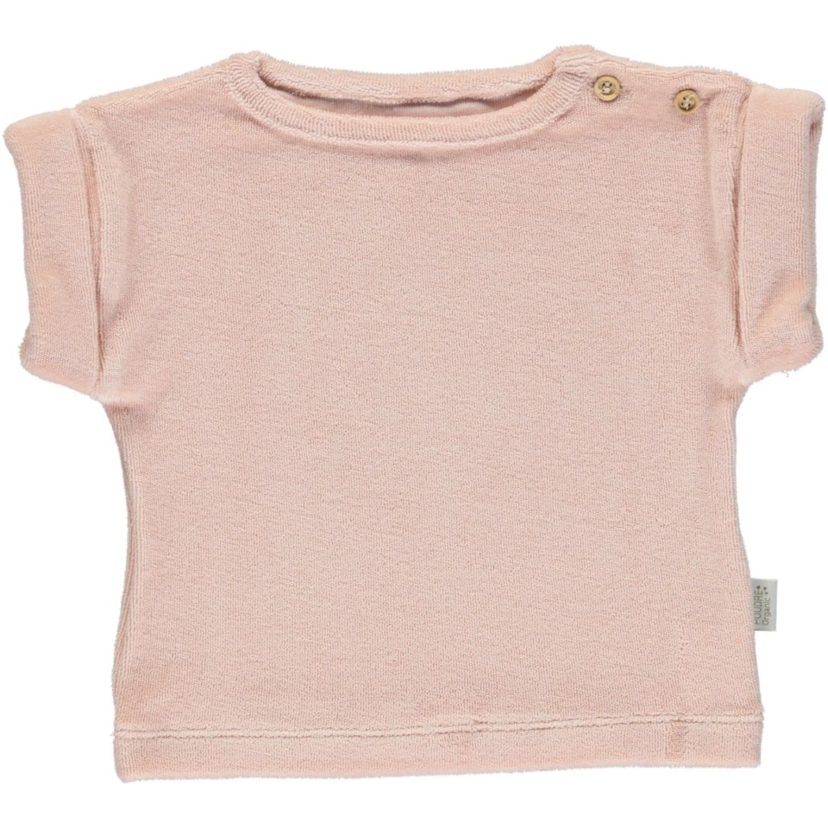 Poudre Organic Blouse Eponge Laurier Evening Sand Pink