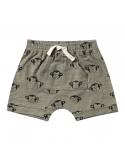 Monkey Front Pouch Short Green