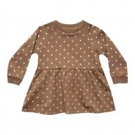 Raglan dress celestial caramel