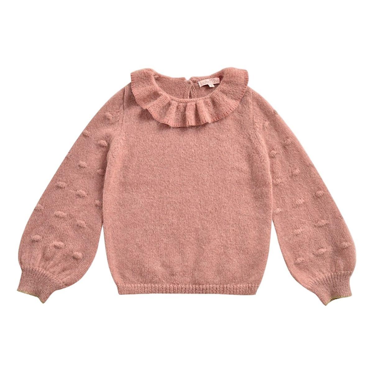 Sweter Luna różowy