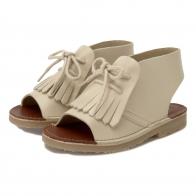 Agnes Leather Boot Sandal Vanilla