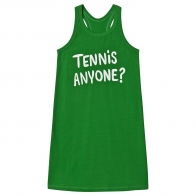 Tennis anyone ap tank dress green