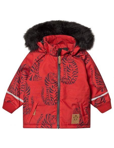 Mini Rodini - Kurtka K2 tiger czerwona - 1