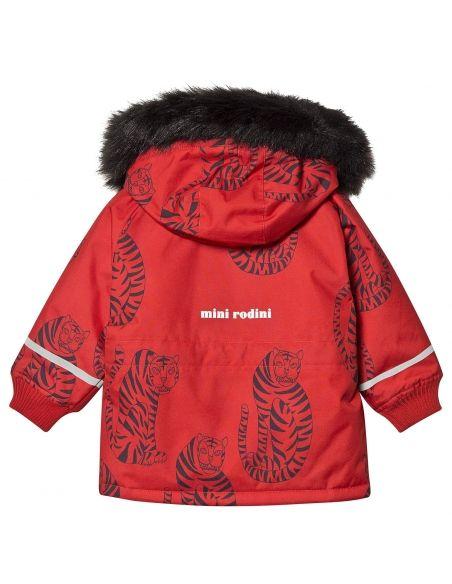 Mini Rodini - Kurtka K2 tiger czerwona - 2
