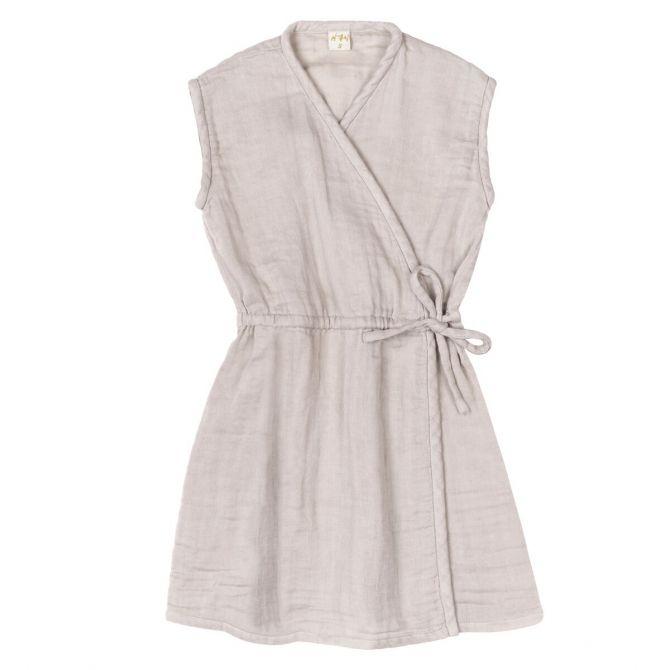 Numero 74 Sukienka Grace pudrowa