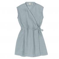 Sukienka Grace zgaszony błękit