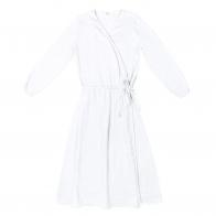 Alma Dress Mum white