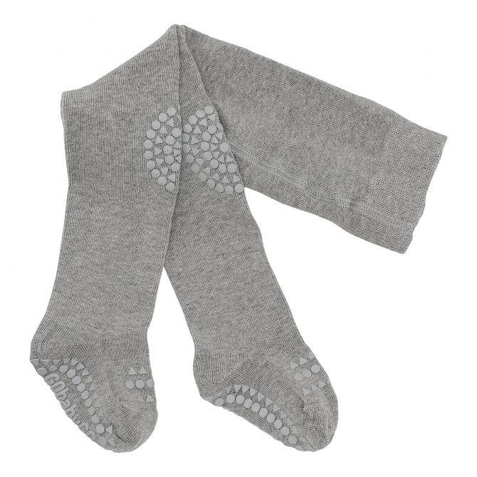 GoBabyGo Crawling tights Grey melange
