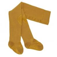 Crawling tights Mustard