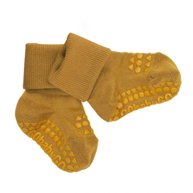 GoBabyGo Non-slip socks Mustard