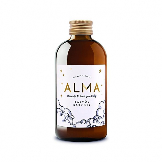 ALMA Natural baby oil 250 ml