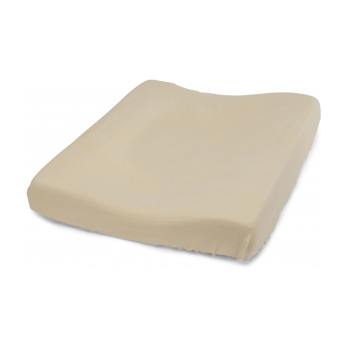 Konges Slojd Fitted Sheet For Changing Cushion Sand