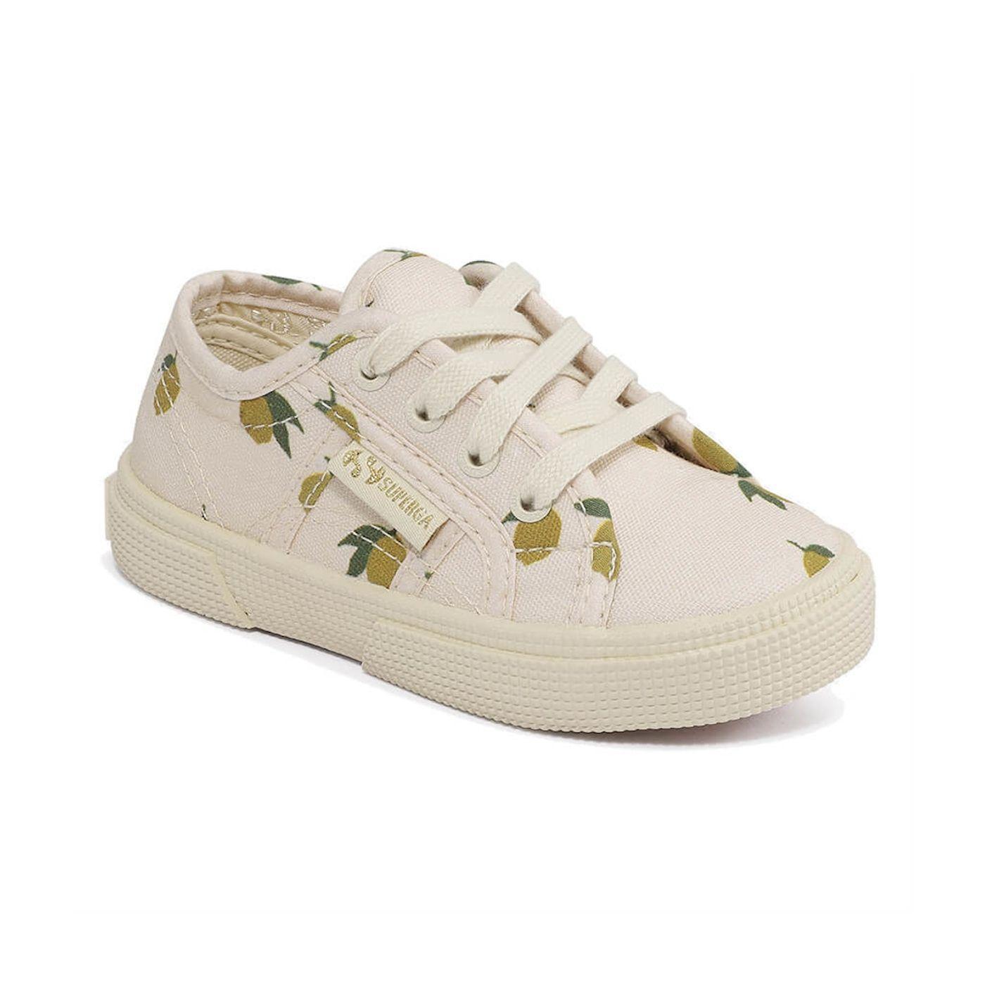Konges Slojd Shoes Superga Laces Lemon