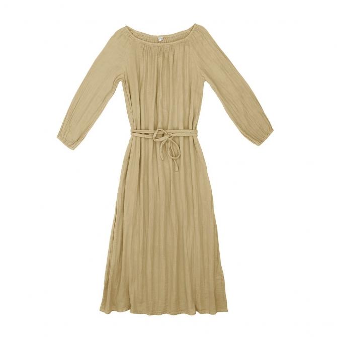 Numero 74 Nina Long Dress Mum mellow yellow