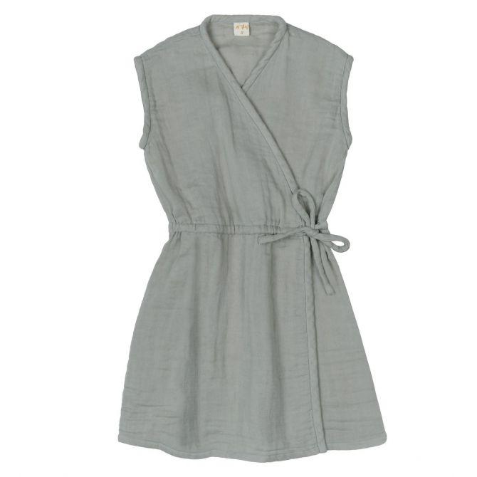 Numero 74 Sukienka Grace srebrnoszara