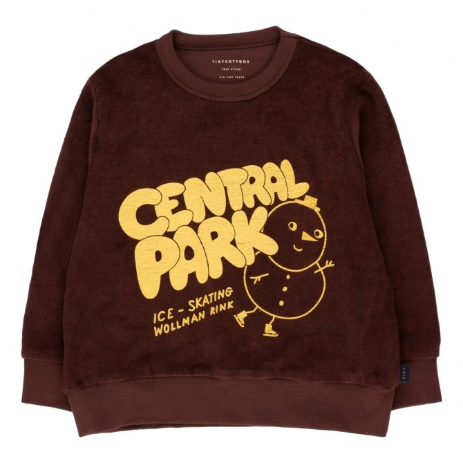 Tiny Cottons Central Park Sweatshirt brown