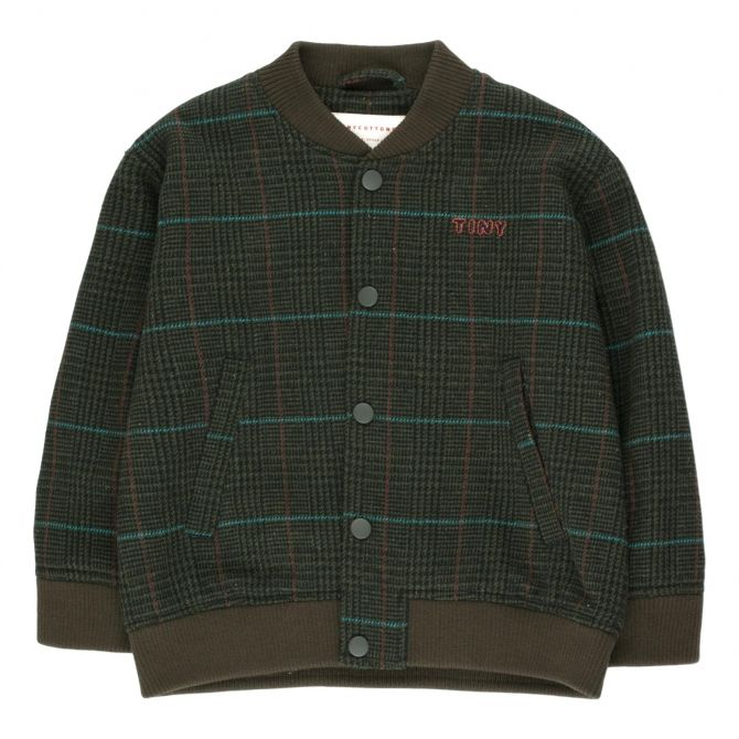 Tiny Cottons Tweed Bomber Jacket multicolor