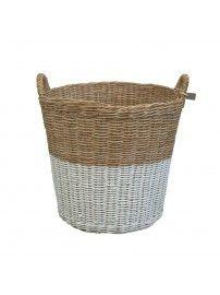 Koszyk Basket rattan rattanowy white biały - Numero 74