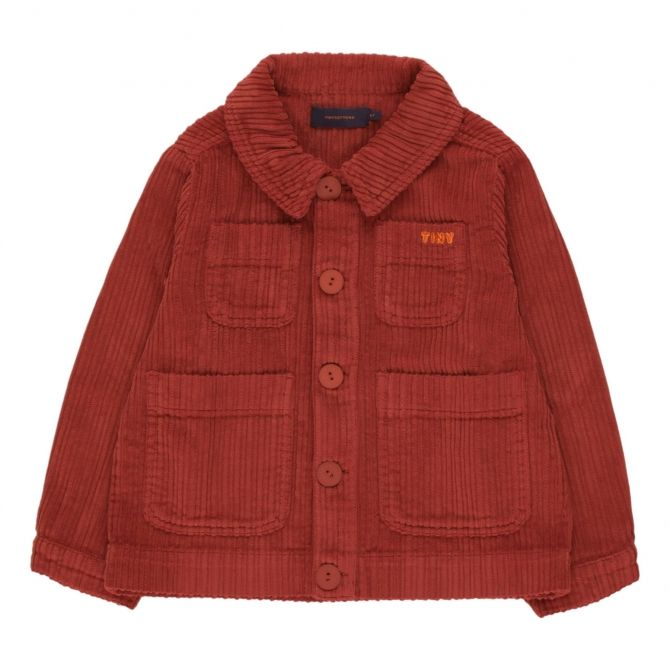 Tiny Cottons Tiny Solid Jacket brown
