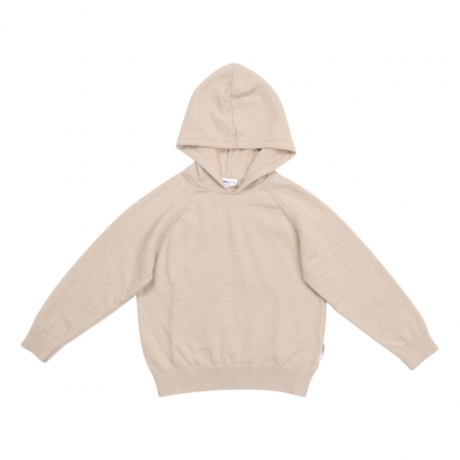 Maed for mini Knit hoodie luxurious lynx