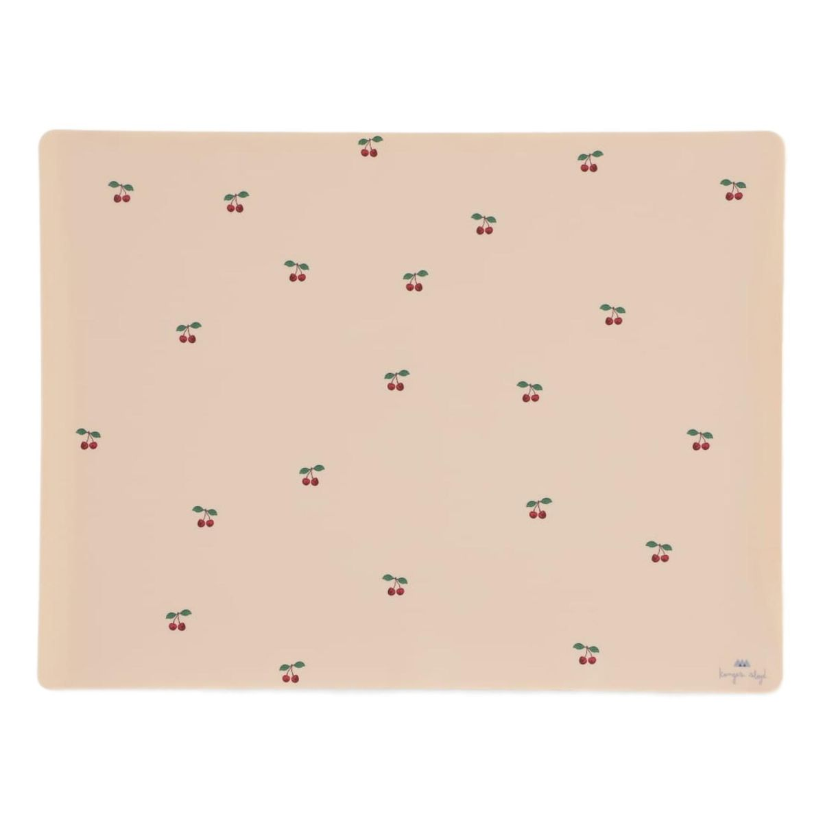 Konges Slojd Placemat Silicone Cherry