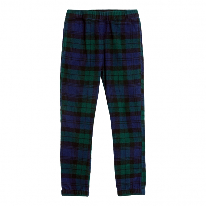 Finger in the nose Storm Pants navy checks