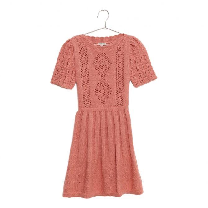 Fish & Kids Knitted Dress pink