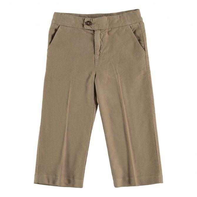 Tocoto Vintage Flannel Pants Beige